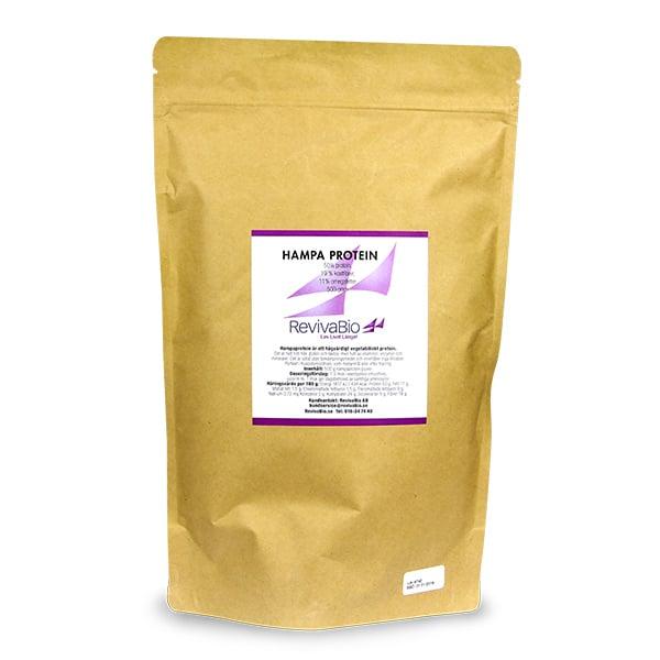 Hampaprotein extra vegetabiliskt proteintillskott