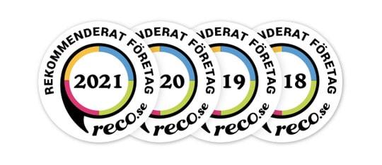 RECO rekommendation av RevivaBio 2018-2021