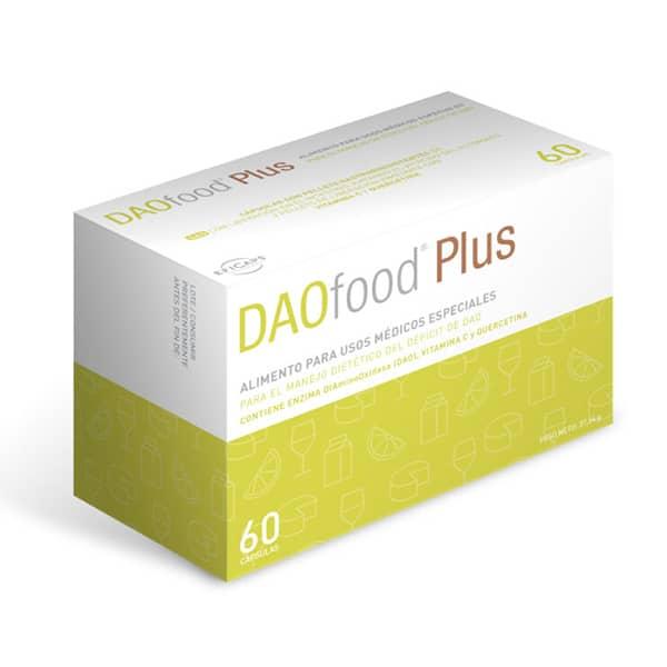 DAOfood® Plus vid histaminintolerans och brist på DAO enzymet diaminoxidas
