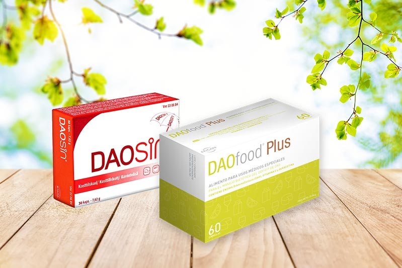 Daosin och DaoFood har olika egenskaper