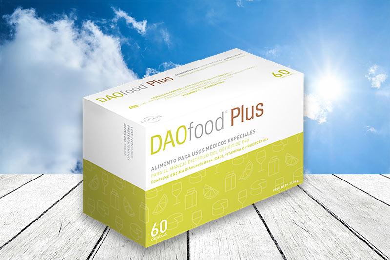 Nya DAOfood Plus mot histamin